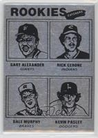 Gary Alexander, Rick Cerone, Dale Murphy, Kevin Pasley