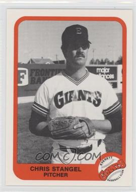 1984 Pacific Cramer Everett Giants - [Base] #18 - Christopher Stangel