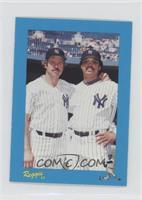 Jim Hunter, Reggie Jackson