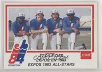 Tim Raines, Gary Carter, Steve Rogers, Andre Dawson