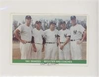 1961 Yankees Managers and Coaches [EX to NM]