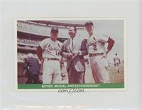 Ken Boyer, Stan Musial, Red Schoendienst [Noted]