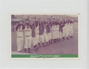 1984 TCMA - Greats [Base] #1984-32 - 1952 Giants [Noted]
