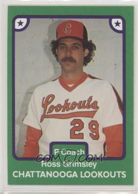 1984 Tcma Minor League Base 080 Ross Grimsley
