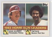 Jim Rice, Mike Schmidt