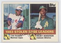 Tim Raines, Rickey Henderson