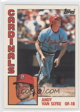 1984 Topps - [Base] - Box Set Collector's Edition (Tiffany) #206 - Andy Van Slyke