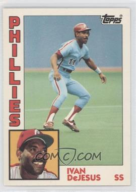 1984 Topps - [Base] - Box Set Collector's Edition (Tiffany) #279 - Ivan DeJesus