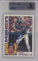 Ryne Sandberg [BGS AUTHENTIC AUTOGRAPH]
