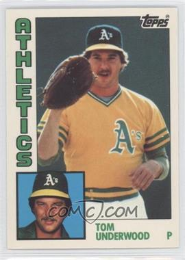 1984 Topps - [Base] - Box Set Collector's Edition (Tiffany) #642 - Tom Underwood