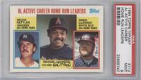 Career Leaders - AL Active Career Home Run Leaders (Graig Nettles, Reggie Jacks…