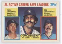 Career Leaders - AL Active Career Save Leaders (Rich Gossage, Dan Quisenberry, …