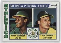 Rickey Henderson, Tim Conroy