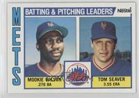 Mookie Wilson, Tom Seaver