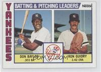 Don Baylor, Ron Guidry
