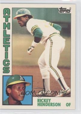 1984 Topps - [Base] - Tiffany #230 - Rickey Henderson