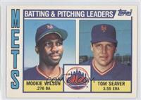 Mookie Wilson, Tom Seaver