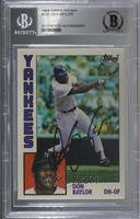 Don Baylor [BAS Certified Encased by BGS]