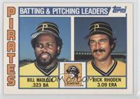 Bill Madlock, Rick Rhoden