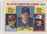Career Leaders - NL Active Career ERA Leaders (Steve Carlton, Tom Seaver, Steve…