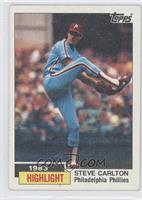 1983 Highlight - Steve Carlton