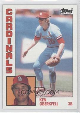 1984 Topps - [Base] #102 - Ken Oberkfell