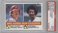 Mike Schmidt, Jim Rice [PSA 9]