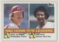 Mike Schmidt, Jim Rice