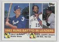 Cecil Cooper, Jim Rice, Dale Murphy
