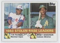 Tim Raines, Rickey Henderson