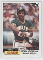 1983 Highlight - Rickey Henderson