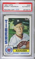 Sparky Anderson [PSAAUTHENTIC]