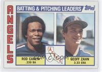 Rod Carew, Geoff Zahn