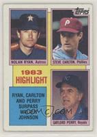 1983 Highlight - Nolan Ryan, Steve Carlton, Gaylord Perry [PoortoFa…