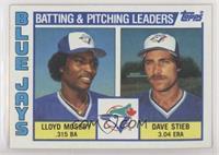 Lloyd Moseby, Dave Stieb