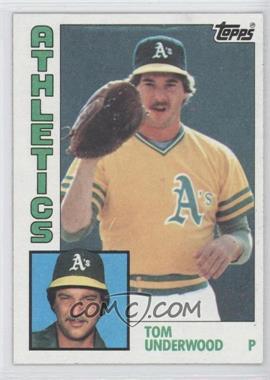 1984 Topps - [Base] #642 - Tom Underwood