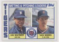 Checklist, Lou Whitaker, Jack Morris