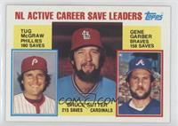 Career Leaders - NL Active Career Save Leaders (Bruce Sutter, Tug McGraw, Gene …
