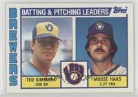 Ted Simmons, Moose Haas