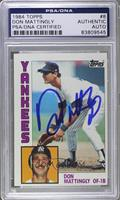 Don Mattingly [PSA/DNA Certified Auto]