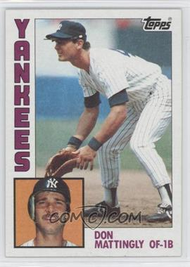 1984 Topps - [Base] #8 - Don Mattingly