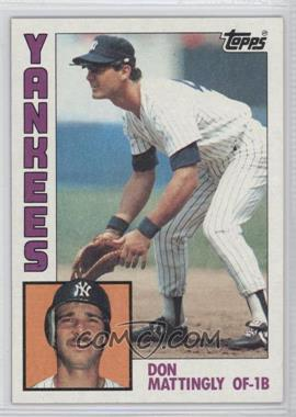 1984 Topps - [Base] #8 - Don Mattingly