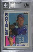 Bret Saberhagen [BAS Certified Encased by BGS]