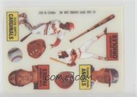 Ozzie Smith, Terry Kennedy, Tommy John, Eddie Murray