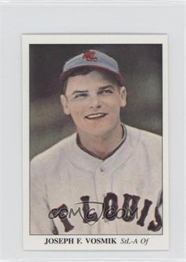 1985 Big League Collectibles America's National Pastime 1930 to 1939 - [Base] #59 - Joe Vosmik /5000