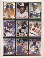 Lou Whitaker, Eddie Murray, Robin Yount, Buddy Bell, Reggie Jackson, Harold Bai…