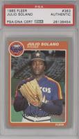 Julio Solano [PSA/DNA Certified Auto]