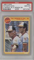 Cal Ripken & Cal Jr. Father & Son [PSA 10]