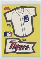 Detroit Tigers Team (Jersey/Pennant)