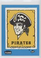 Pittsburgh Pirates Team (Logo; Peel is Facing Correctly)